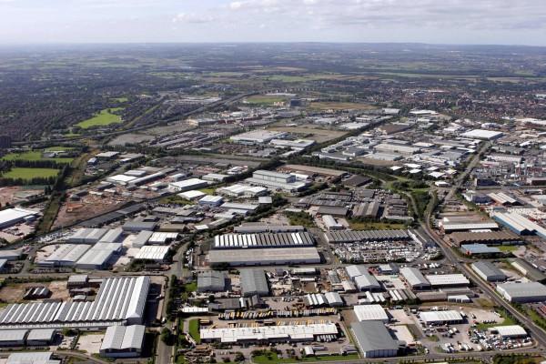 Trafford Aerial